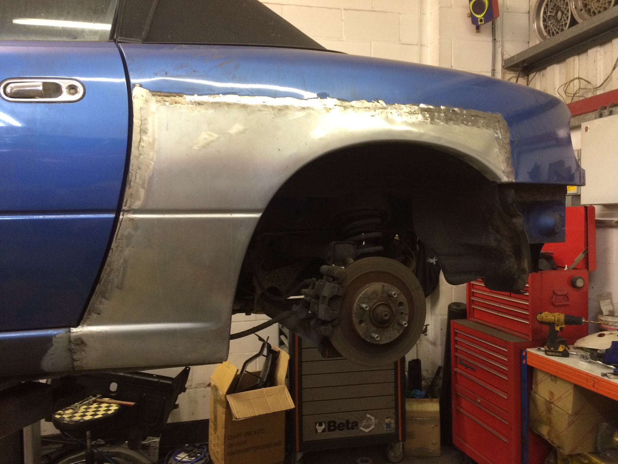 Rear Sill And Arch Repairs The Mx5 Restorer