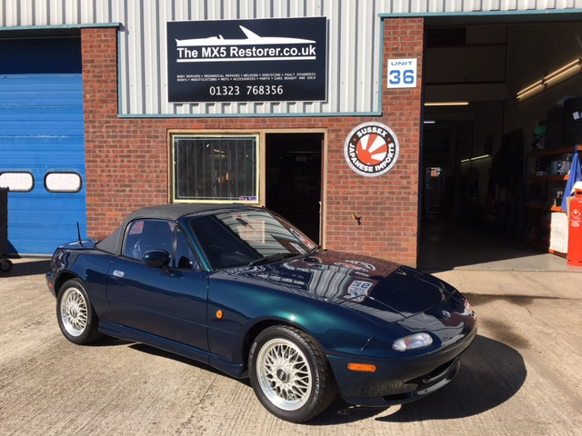 1994 Mk1 Mazda MX5 (Eunos Roadster) RS - only 60,000 miles! - SOLD